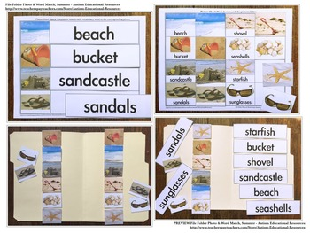 BUNDLE: Sixteen File Folder Activities about Seasons!