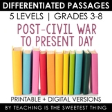 Social Studies BUNDLE Vol. 1: Differentiated Reading Passages