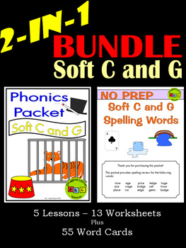BUNDLE - Soft C and G