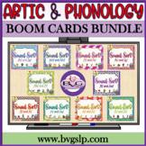 Speech Therapy BOOM CARDS BUNDLE Sound Sort Articulation -