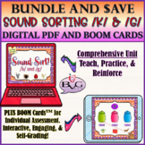 BOOM CARDS Speech Therapy Articulation BUNDLE Sound Sort K & G - Teletherapy
