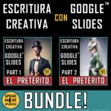 BUNDLE Spanish Digital Writing Activities Regular PRETERIT