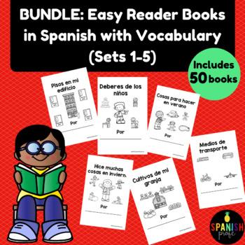 BUNDLE: Spanish Easy Reader books (Libros infantiles o lectura facil o practica)