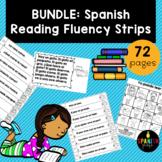 BUNDLE: Spanish Reading Fluency Strips (Tiras de fluidez para lectura)