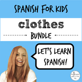 Spanish: Clothing (BUNDLE)