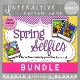 BUNDLE: Spring Selfies {Interactive Melody Game}