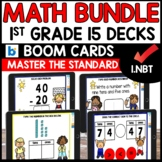 BOOM CARDS Distant Learning BUNDLE Standard 1.NBT