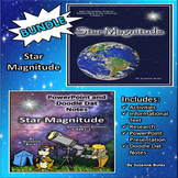 BUNDLE!  Star Magnitude: Activities, Doodle Dat Notes and PowerPoint