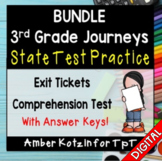 BUNDLE State Test Prep - 3rd Grade Journeys 2014