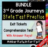 BUNDLE State Test Prep - 3rd Grade Journeys 2014