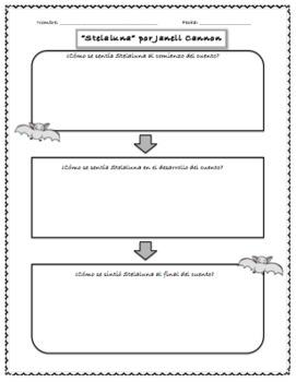 BUNDLE Stellaluna Graphic Organizers Spanish/English