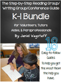 BUNDLE Step-by-Step Reading Group & Writing Guides for Tutors & Volunteers K-1