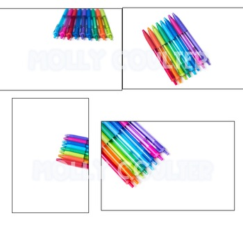 Stock Photo: Colored Pen Bundle- Personal & Commercial Use