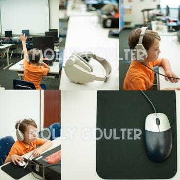 Stock Photo: Computer Lab BUNDLE -Personal & Commercial Use