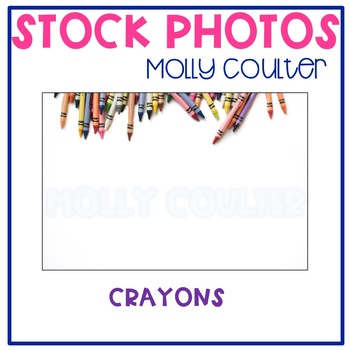Stock Photo: Crayons- Personal & Commercial Use