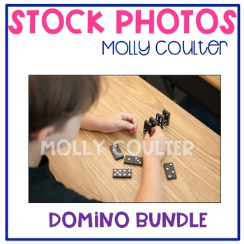 BUNDLE Stock Photo: Domino BUNDLE -Personal & Commercial Use