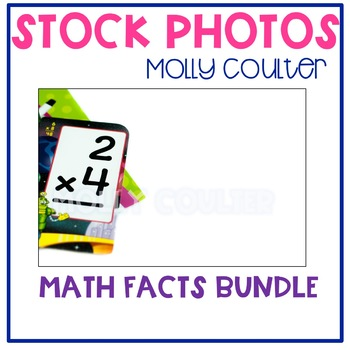 Stock Photo: Math Facts BUNDLE -Personal & Commercial Use
