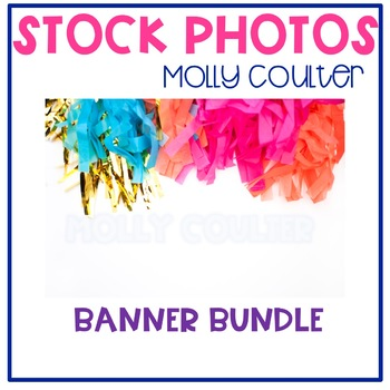 BUNDLE Stock Photo: Party Banner's- Personal & Commercial Use