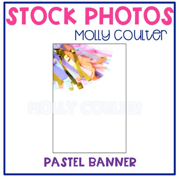 BUNDLE Stock Photo: Pastel Banner Bundle- Personal & Comme
