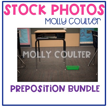 Stock Photo: Preposition BUNDLE -Personal & Commercial Use