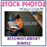 BUNDLE Stock Photo: Reading (LARGE) BUNDLE-Personal & Comm