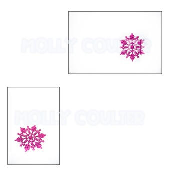 Stock Photo: Snowflakes -Personal & Commercial Use