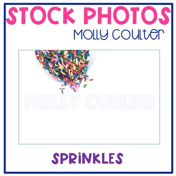 Stock Photo: Sprinkles- Personal & Commercial Use