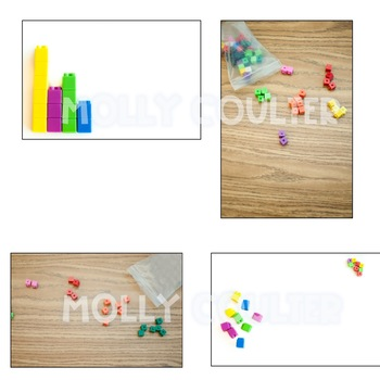 BUNDLE Stock Photo: Unifix Cubes Bundle- Personal & Commercial Use