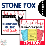 Stone Fox NOTICE AND NOTE Signposts and Novel Study BUNDLE