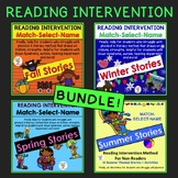 BUNDLE: Stories for all seasons: Match, Select, Name (Down