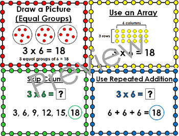 BUNDLE: Strategies for Multiplication and Strategies for Division