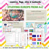 BUNDLE: Studying Europe From A-Z