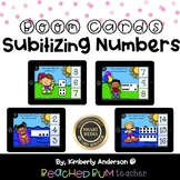 BUNDLE: Subitizing Numbers (Dice / Tens Frame / Dominoes)