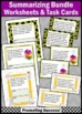 Summarizing wh Questions BUNDLE of Activities & Games