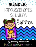 BUNDLE Summer / End of the Year:  Language Arts Centers (5