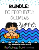 BUNDLE Summer / End of the Year: No Prep - Match Activitie