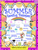 BUNDLE! Summer Reading comprehension passages and questions + math word problems