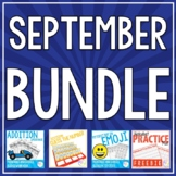 BUNDLE - THINGS TO DO IN SEPTEMBER
