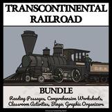 TRANSCONTINENTAL RAILROAD - Reading Comprehension, Activities, Bingo