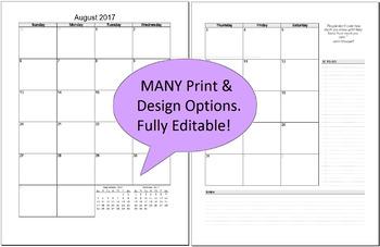 BUNDLE Teacher & Student Editable Planner FREE Updates -Organizer & MORE!