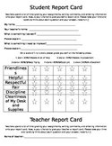 DISCOUNT: End of the Year Teacher report card AND student report card