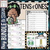 BUNDLE: Tens and Ones Worksheets