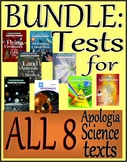 BUNDLE:  Tests for all 8 of Apologia's Exploring Creation