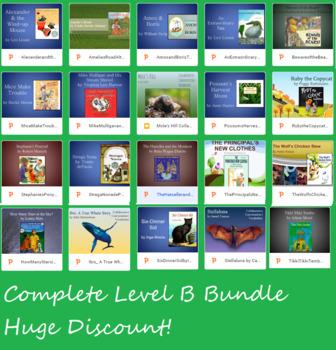 BUNDLE Text Talk Level B | 20 Lessons PowerPoint | Collaborative Conversations