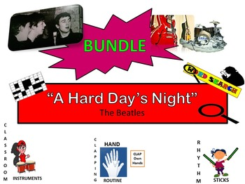 "BUNDLE: The Beatles: ""A Hard Day's Night"" G2-5"