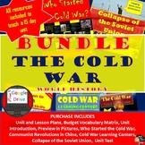 Cold War Unit BUNDLE World History   Grades 8-12   PRINT and DIGITAL