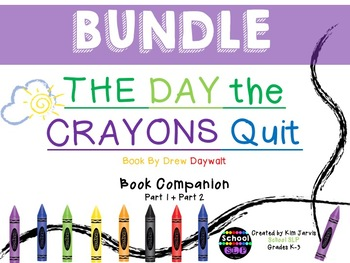 BUNDLE: The Day The Crayons Quit Book Companions 1 & 2