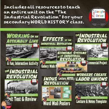 Industrial Revolution BUNDLE  (World History) Print & Digital