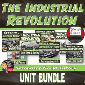 The Industrial Revolution BUNDLE  (World History)