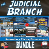 The Judicial Branch   BUNDLE   CIVICS   Common-Core Aligned